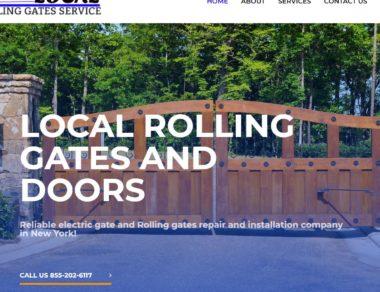Rolling Gate Design